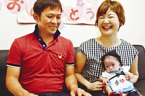 金城寧々ちゃん 261gで生まれた赤ちゃんの現在の体重や写真は?父・金城勝利と母まゆみはどんな人?