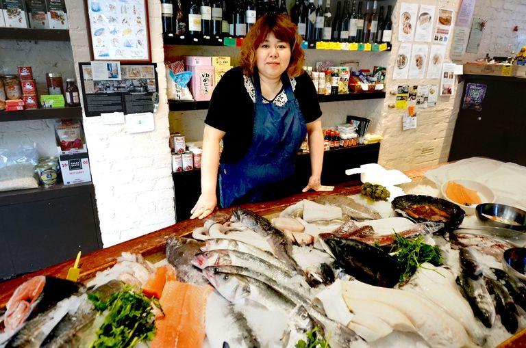 ベルトン由香(ロンドン・鮮魚店)の経歴!夫の職業や馴れ初め、子供がいるのかも!【セブンルール】